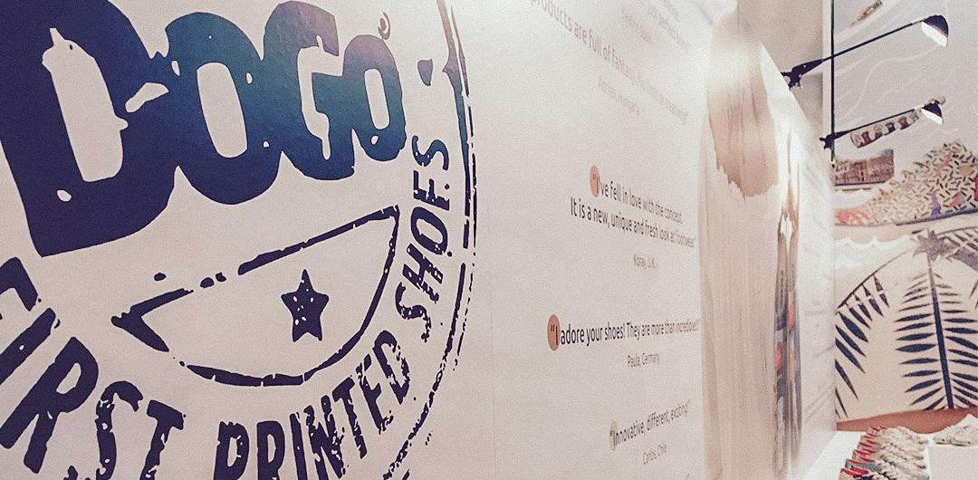 DOGO-Logo im Shop