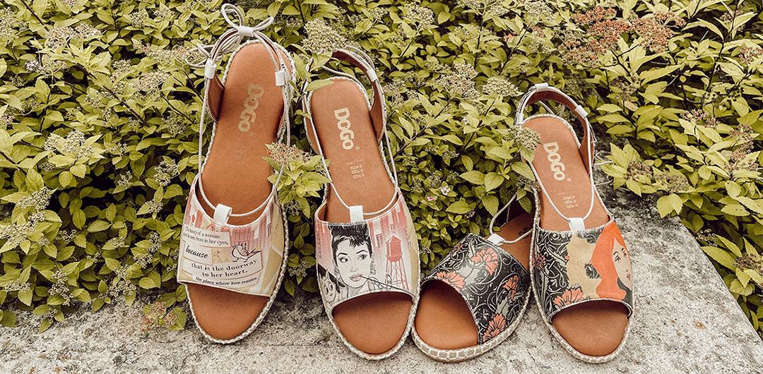 DOGO Hazel - Sommerliche Schuhe mit Comic