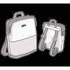 Praktischer und großer Notebook-Rucksack...