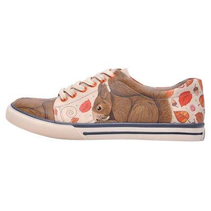 Bunte Sneaker mit schönen Motiven und kreativen Designs - Dogo Sneaker - Squirrel im DOGO Onlineshop bestellen!