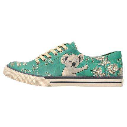 Bunte Sneaker mit schönen Motiven und kreativen Designs - Dogo Sneaker - Koala Hug 36 im DOGO Onlineshop bestellen!