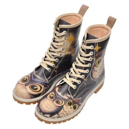 DOGO Boots - Owls Family