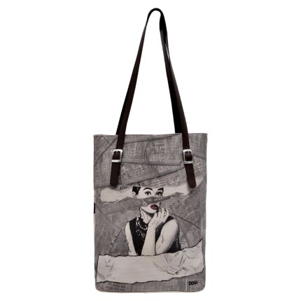 Bunte Taschen mit schönen Motiven und kreativen Designs - Dogo Tall Bag - Go Back to Being Yourself im DOGO Onlineshop bestellen!