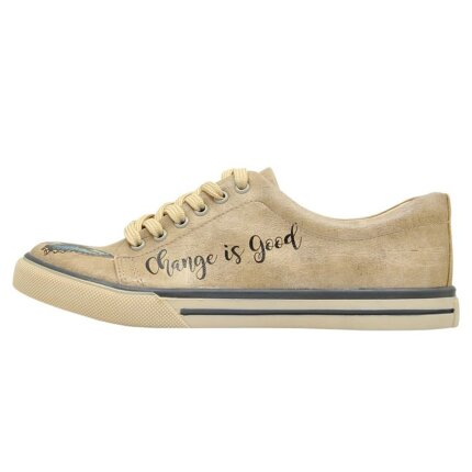 Bunte Sneaker mit schönen Motiven und kreativen Designs - Dogo Sneaker - Change is Good im DOGO Onlineshop bestellen!