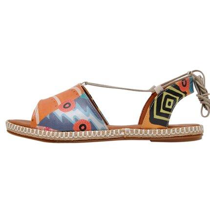 Bunte Sandalen mit schönen Motiven und kreativen Designs - DOGO Hazel - Welcome to the Tribe im DOGO Onlineshop bestellen!