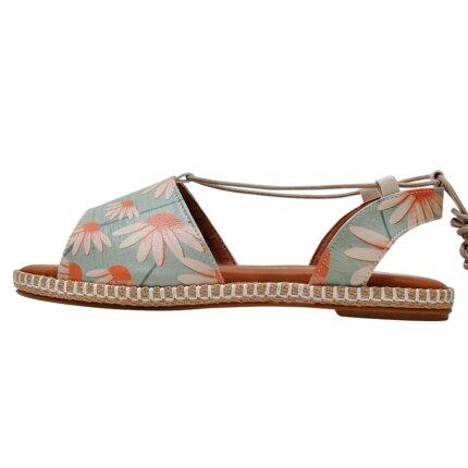 Bunte Sandalen mit schönen Motiven und kreativen Designs - DOGO Hazel - Smell Like Love im DOGO Onlineshop bestellen!