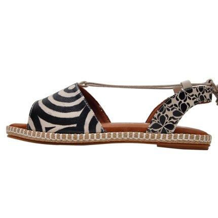 Bunte Sandalen mit schönen Motiven und kreativen Designs - DOGO Hazel - Black im DOGO Onlineshop bestellen!