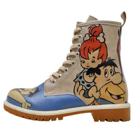 Bunte Boots mit schönen Motiven und kreativen Designs - Dogo Boots - Family Rocks im DOGO Onlineshop bestellen!