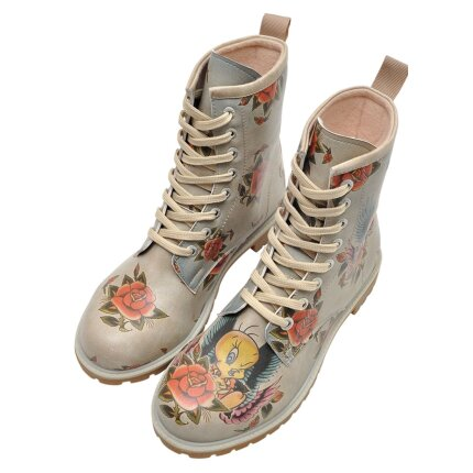 DOGO Boots - Tweety with Roses
