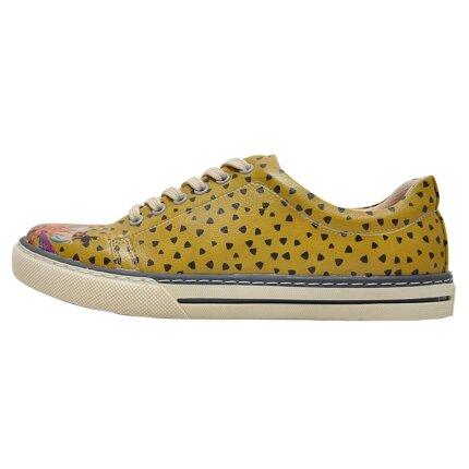 Bunte Sneaker mit schönen Motiven und kreativen Designs - Dogo Sneaker - Rock Stars 36 im DOGO Onlineshop bestellen!
