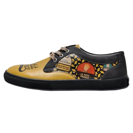 Bunte Sneaker mit schönen Motiven und kreativen Designs - Dogo Cord - The Yellow Side of Me Le Petit Prince im DOGO Onlineshop bestellen!