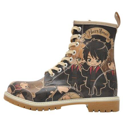 Bunte Boots mit schönen Motiven und kreativen Designs - Dogo Boots - Chibi Potter Harry Potter im DOGO Onlineshop bestellen!