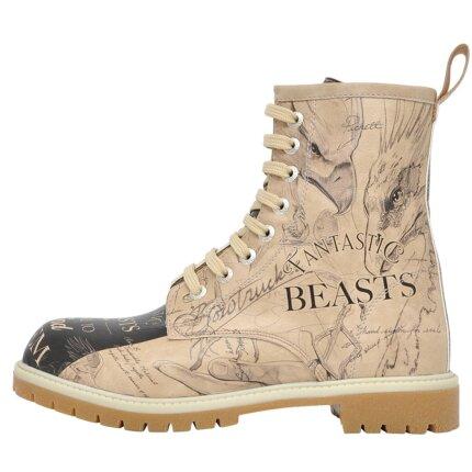 Bunte Boots mit schönen Motiven und kreativen Designs - Dogo Boots - I want to be a Wizard Fantastic Beasts im DOGO Onlineshop bestellen!