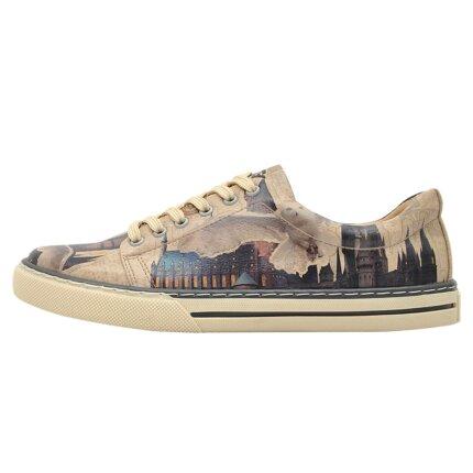 Bunte Sneaker mit schönen Motiven und kreativen Designs - Dogo Sneaker - Gryffindor Gang Harry Potter im DOGO Onlineshop bestellen!