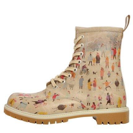 Bunte Boots mit schönen Motiven und kreativen Designs - Dogo Boots - Snow Square im DOGO Onlineshop bestellen!