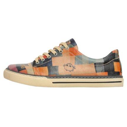 Bunte Sneaker mit schönen Motiven und kreativen Designs - Dogo Sneaker - Life is Short im DOGO Onlineshop bestellen!