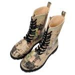 Bunte Boots mit schönen Motiven und kreativen Designs -...