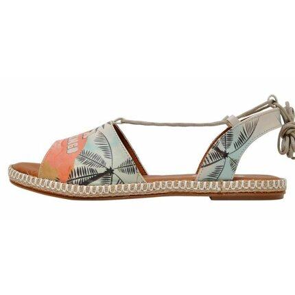 Bunte Sandalen mit schönen Motiven und kreativen Designs - DOGO Hazel - Be a Flamingo im DOGO Onlineshop bestellen!