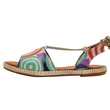 Bunte Sandalen mit schönen Motiven und kreativen Designs - DOGO Hazel - Sun Days im DOGO Onlineshop bestellen!