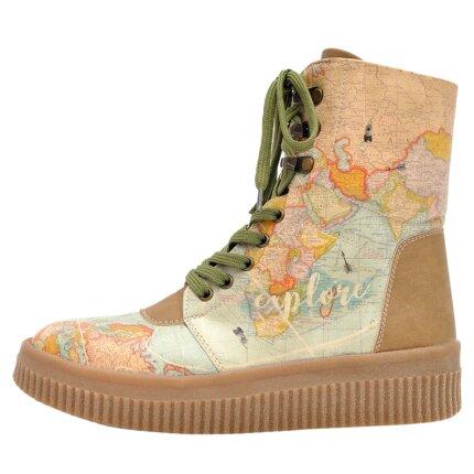 Bunte Sneaker Boots mit schönen Motiven und kreativen Designs - Dogo Future Boots - Explore im DOGO Onlineshop bestellen!