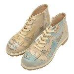 Bunte Boots mit schönen Motiven und kreativen Designs- Around the World 41 im DOGO Onlineshop bestellen!