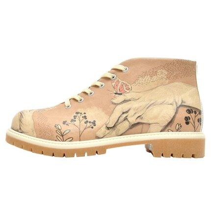 Bunte Boots mit schönen Motiven und kreativen Designs- Lady Butterfly im DOGO Onlineshop bestellen!