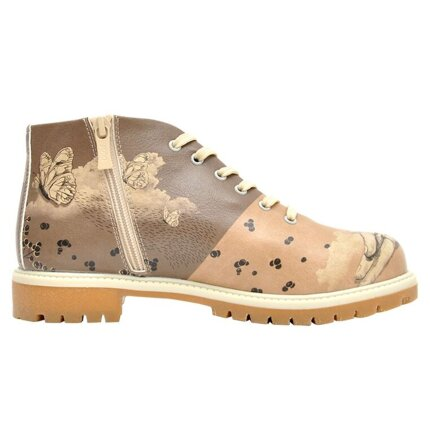 DOGO Shortcut Boots - Lady Butterfly