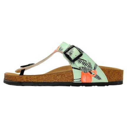 Bunte Sandalen mit schönen Motiven und kreativen Designs - DOGO Lila - Be a Flamingo im DOGO Onlineshop bestellen!