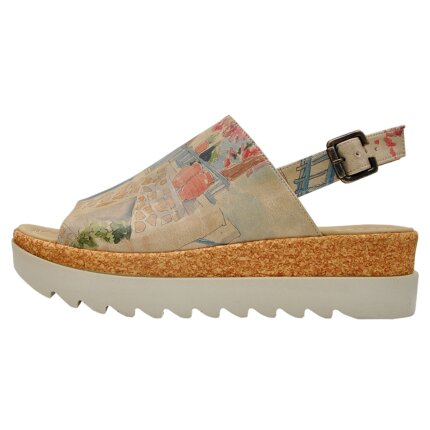 Bunte Sandalen mit schönen Motiven und kreativen Designs - DOGO Gigi - Sun please im DOGO Onlineshop bestellen!