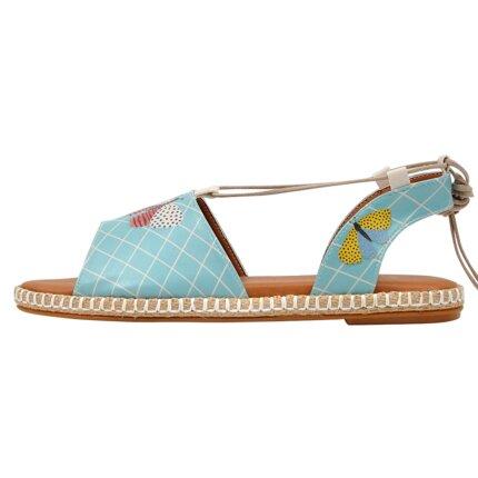 Bunte Sandalen mit schönen Motiven und kreativen Designs - DOGO Hazel - Les Papillons im DOGO Onlineshop bestellen!