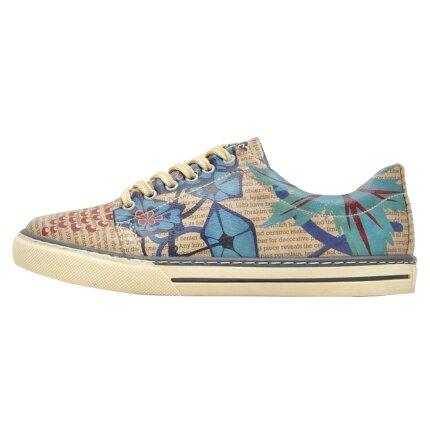 Bunte Sneaker mit schönen Motiven und kreativen Designs - Dogo Sneaker - Istanbul Oriental im DOGO Onlineshop bestellen!