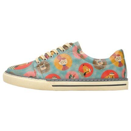 Bunte Sneaker mit schönen Motiven und kreativen Designs - Dogo Sneaker - Dog and cat im DOGO Onlineshop bestellen!