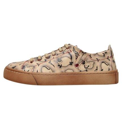 Bunte Sneaker mit schönen Motiven und kreativen Designs - Dogo Sneaky - Life is Better with a Cat im DOGO Onlineshop bestellen!