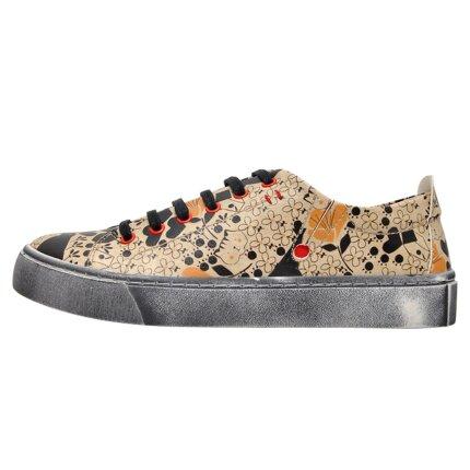 Bunte Sneaker mit schönen Motiven und kreativen Designs - Dogo Sneaky - Go Home im DOGO Onlineshop bestellen!