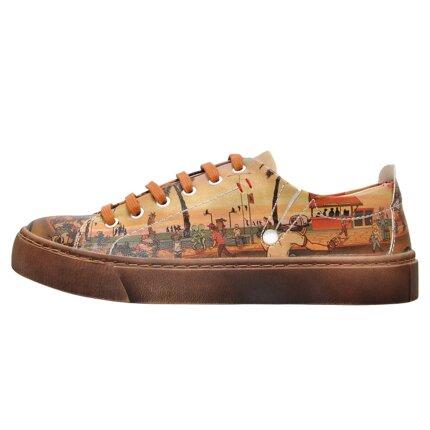 Bunte Sneaker mit schönen Motiven und kreativen Designs - Dogo Sneaky - Beach Style im DOGO Onlineshop bestellen!