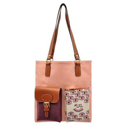 Bunte Taschen mit schönen Motiven und kreativen Designs - DOGO Multi Pocket Bag - All Eyes on Me im DOGO Onlineshop bestellen!