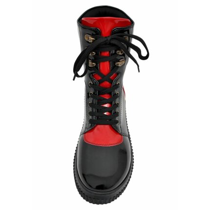 DOGO Future Boots - Dog in Stripes Red