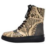 Bunte Sneaker Boots mit schönen Motiven und kreativen Designs - Dogo Future Boots - Deathly HallowsHarry Potter im DOGO Onlineshop bestellen!
