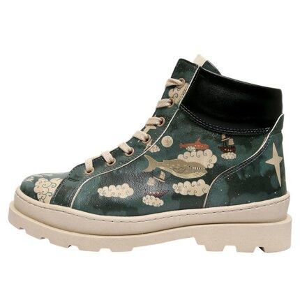 Bunte Boots mit schönen Motiven und kreativen Designs - DOGO Adriana - Fly Freely Onlineshop bestellen!