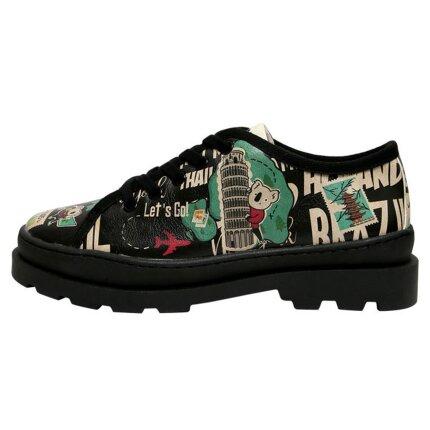 Bunte Sneaker mit schönen Motiven und kreativen Designs - Dogo Alessandra - Let's Go im DOGO Onlineshop bestellen!