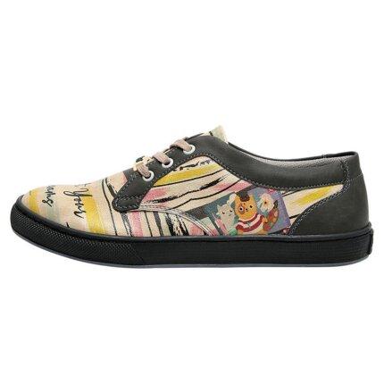 Bunte Sneaker mit schönen Motiven und kreativen Designs - Dogo Cord - Paint Your Dreams im DOGO Onlineshop bestellen!