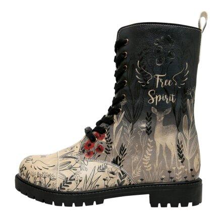 Bunte Boots mit schönen Motiven und kreativen Designs - DOGO Zipsy - Free Spirit im DOGO Onlineshop bestellen!