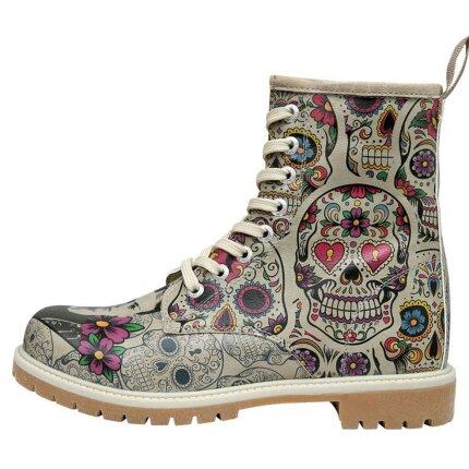 Bunte Boots mit schönen Motiven und kreativen Designs - Dogo Boots - Remembrance Of Frida Kahlo im DOGO Onlineshop bestellen!