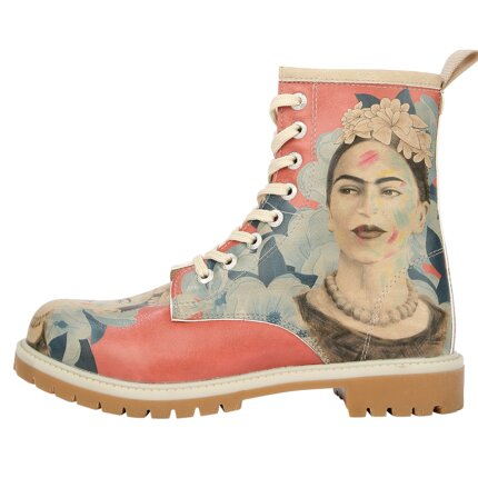 Bunte Boots mit schönen Motiven und kreativen Designs - Dogo Boots - Frida Painting im DOGO Onlineshop bestellen!