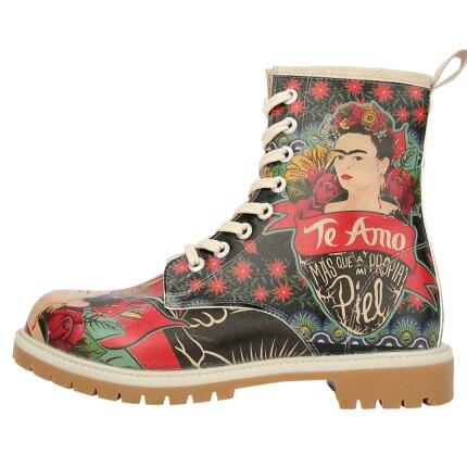 Bunte Boots mit schönen Motiven und kreativen Designs - Dogo Boots - Te Amo im DOGO Onlineshop bestellen!