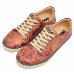 Bunte Sneaker mit schönen Motiven und kreativen Designs -...