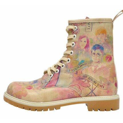 Bunte Boots mit schönen Motiven und kreativen Designs - Dogo Boots - Friendship And Bravery Harry Potter im DOGO Onlineshop bestellen!