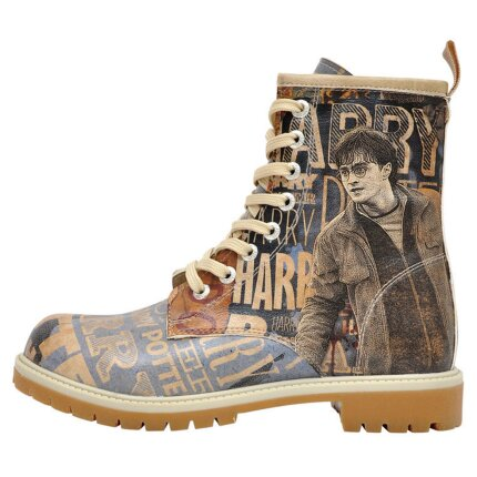 Bunte Boots mit schönen Motiven und kreativen Designs - Dogo Boots - Dark Arts Harry Potter im DOGO Onlineshop bestellen!