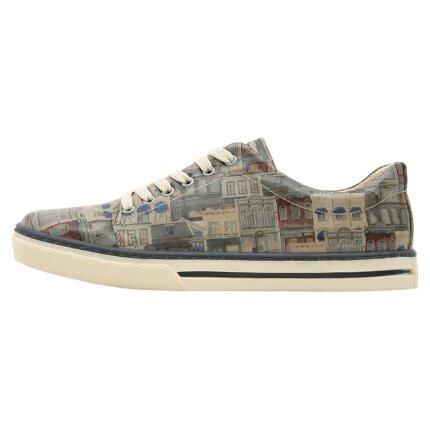 Bunte Sneaker mit schönen Motiven und kreativen Designs - Dogo Sneaker - Frame Of Mind im DOGO Onlineshop bestellen!