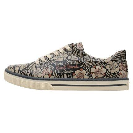 Bunte Sneaker mit schönen Motiven und kreativen Designs - Dogo Sneaker - Sticks And Stones im DOGO Onlineshop bestellen!